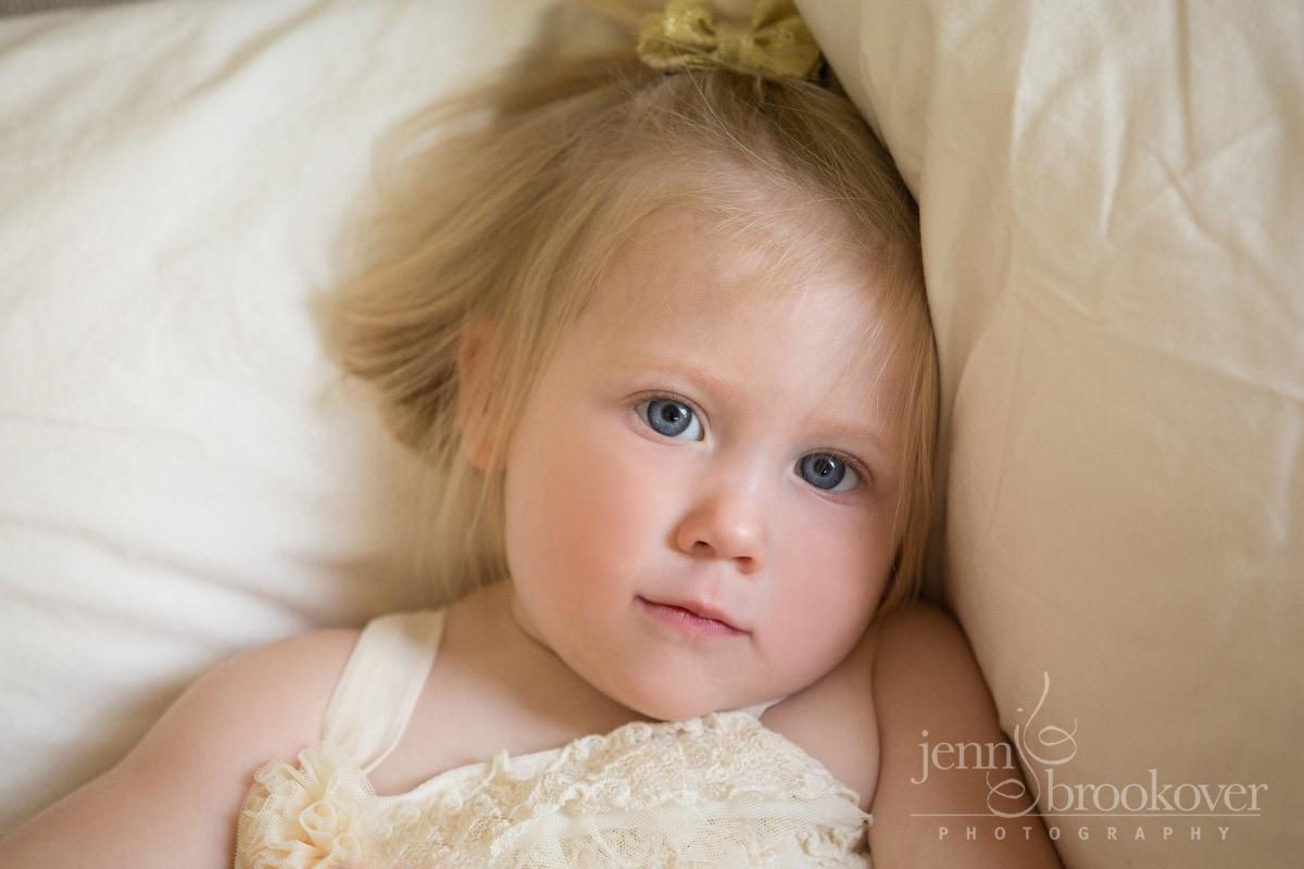up close child portrait